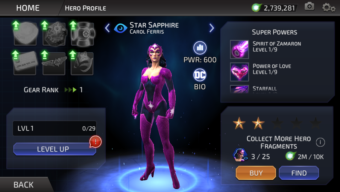 Carol Ferris (DC Legends)
