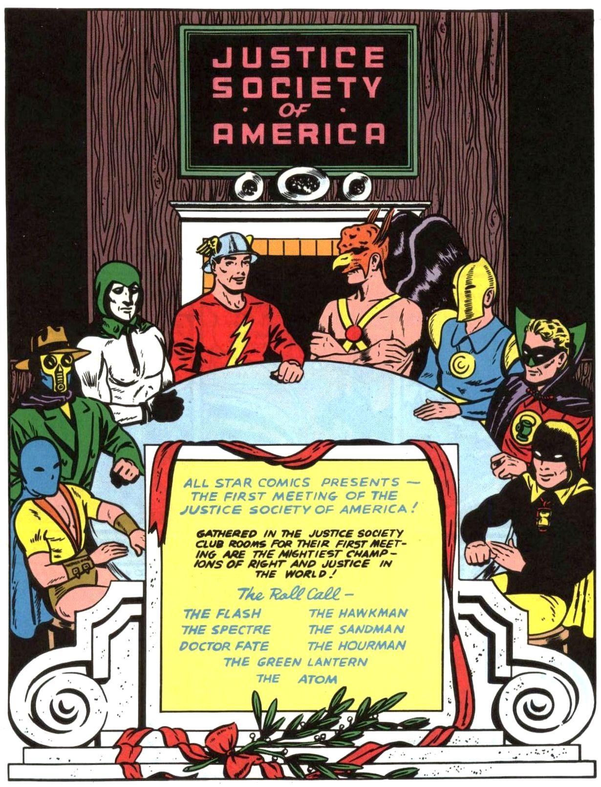 Justice Society Origins