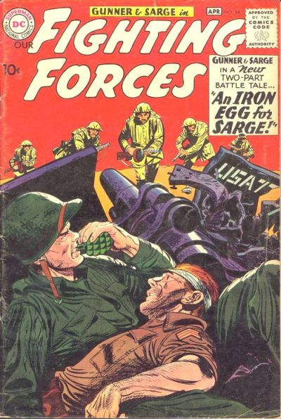 Our Fighting Forces Vol 1 54