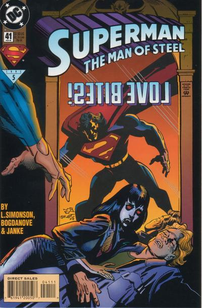 Superman: The Man of Steel Vol 1 41