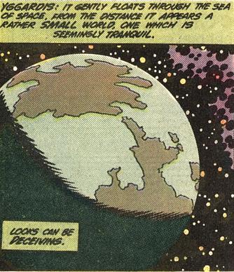 Yggardis, the Living Planet (Earth-One)