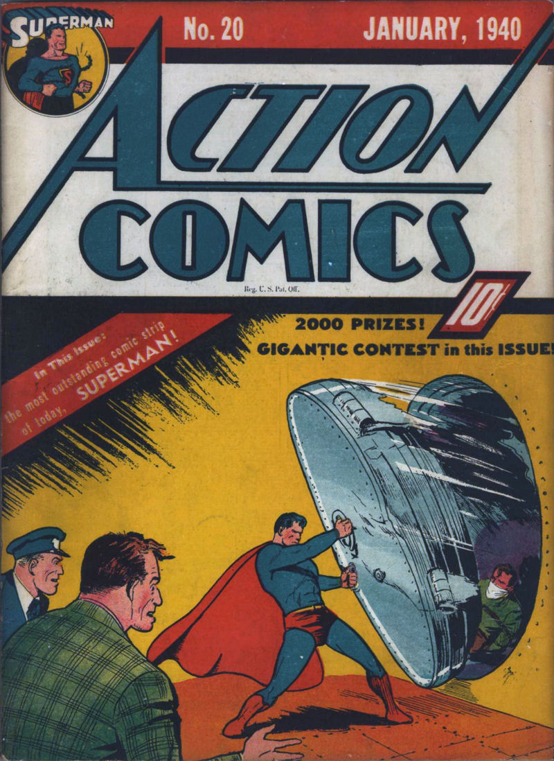 Action Comics Vol 1 20