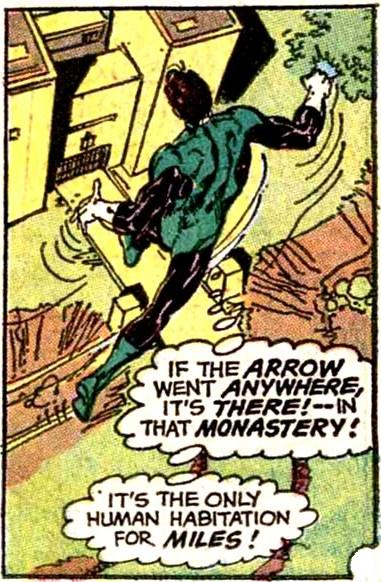 Green Arrow Ashram