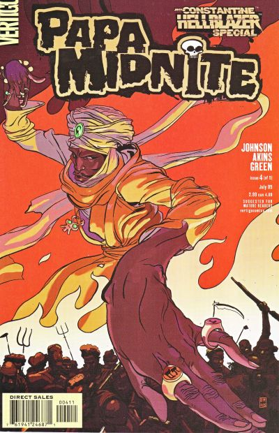 Hellblazer: Papa Midnite Vol 1 4