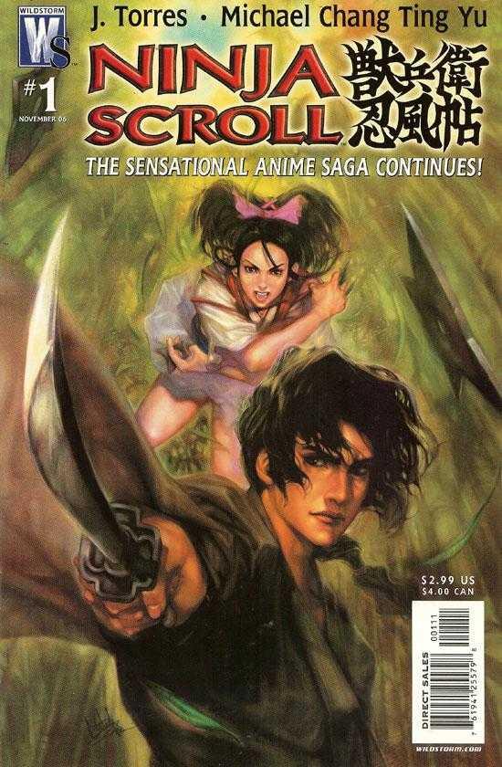 Ninja Scroll Vol 1