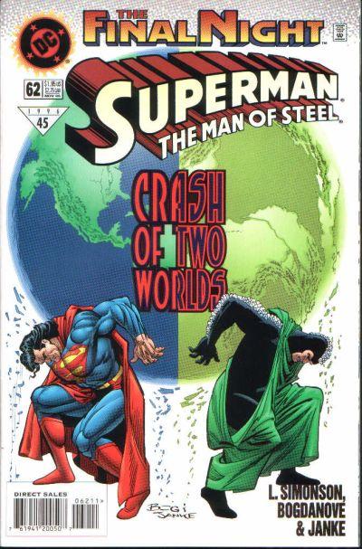 Superman: The Man of Steel Vol 1 62