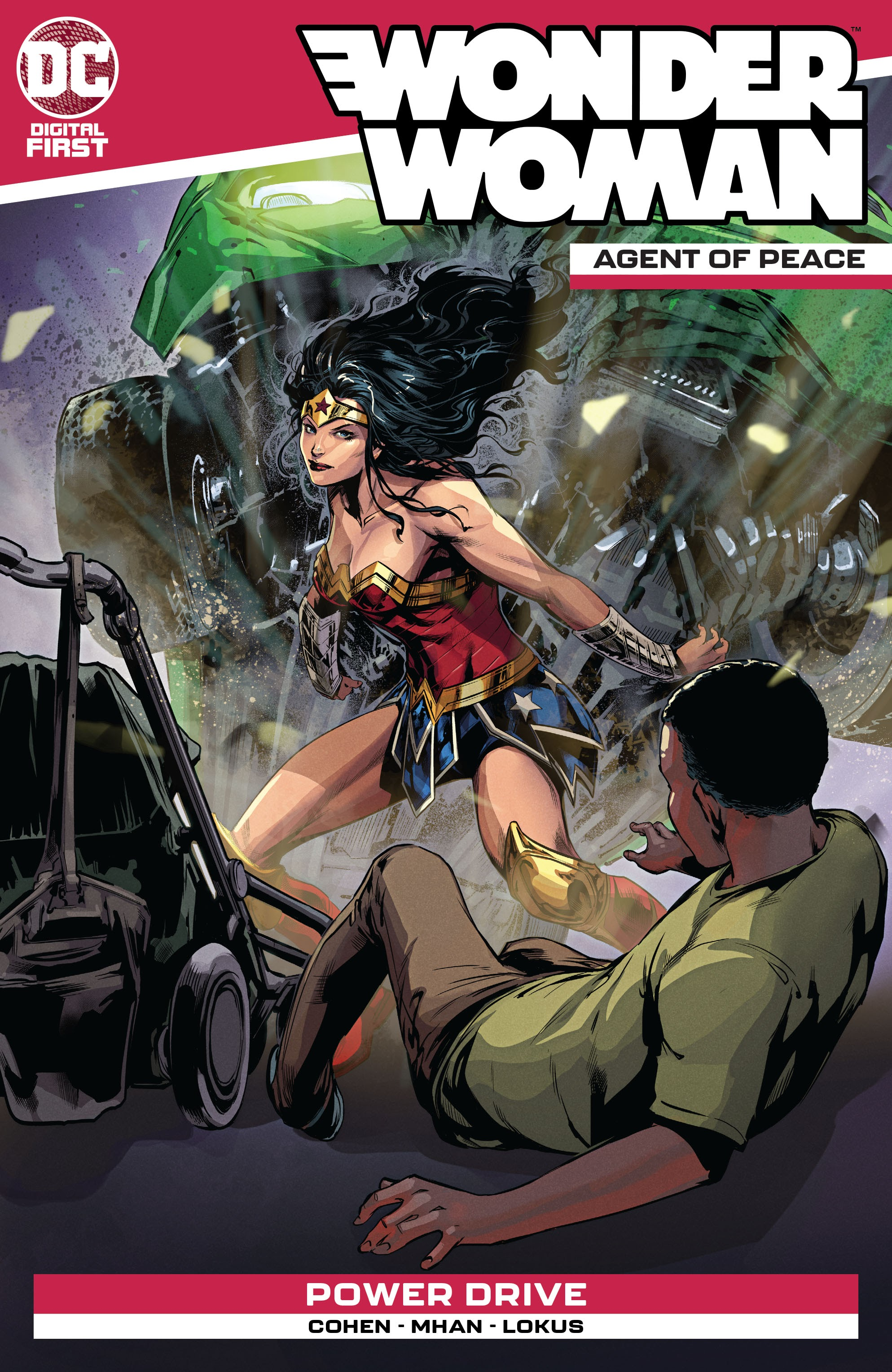 Wonder Woman: Agent of Peace Vol 1 13 (Digital)