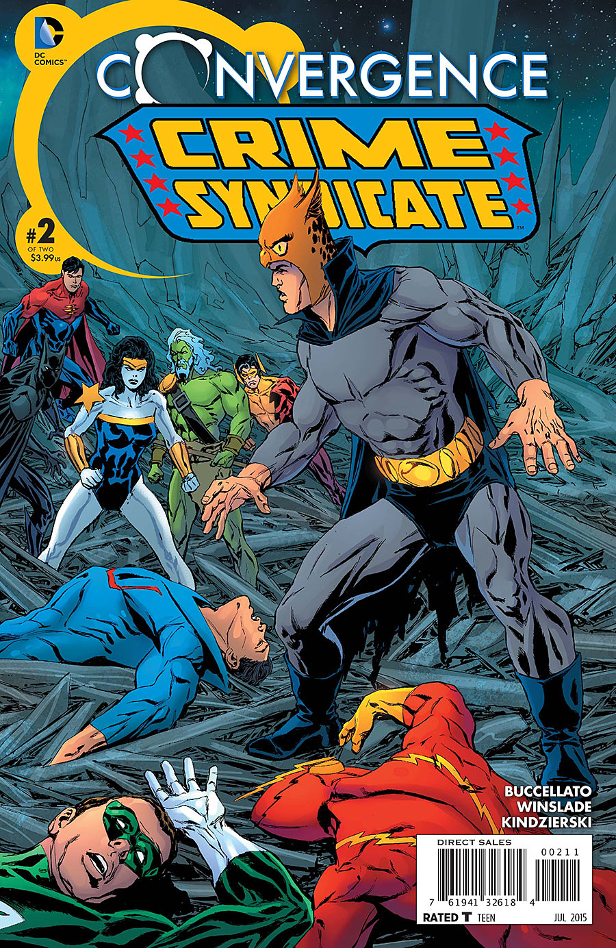 Convergence: Crime Syndicate Vol 1 2