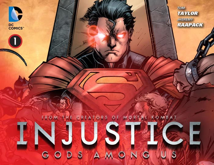 Injustice: Gods Among Us Vol 1 1