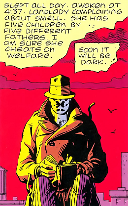 Rorschach's Journal