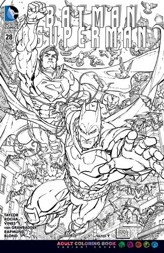 Adult Coloring Book Variant