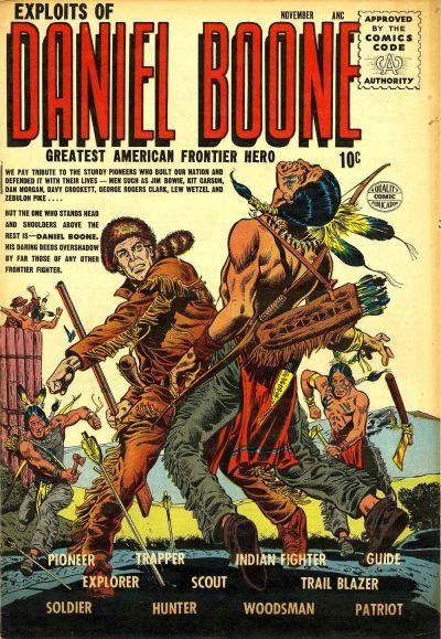Exploits of Daniel Boone Vol 1 1