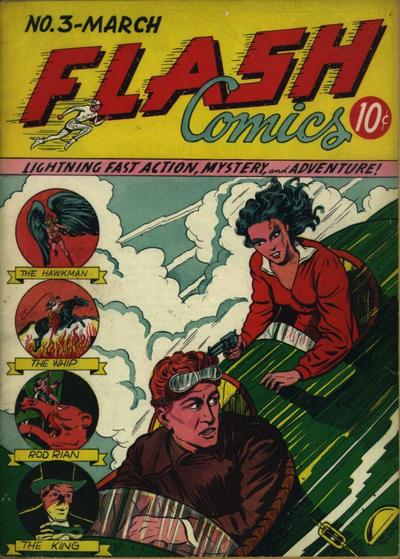 Flash Comics Vol 1 3