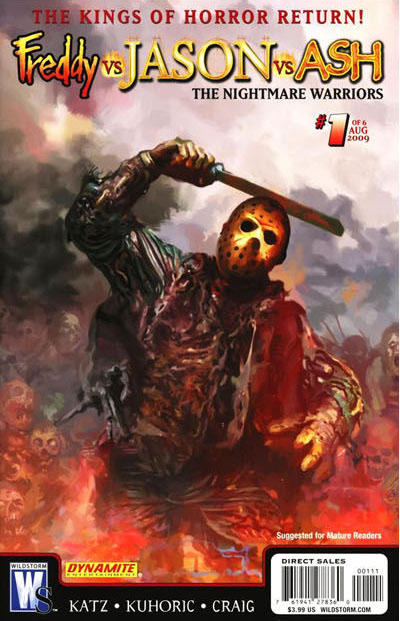 Freddy vs. Jason vs. Ash: The Nightmare Warriors Vol 1 1