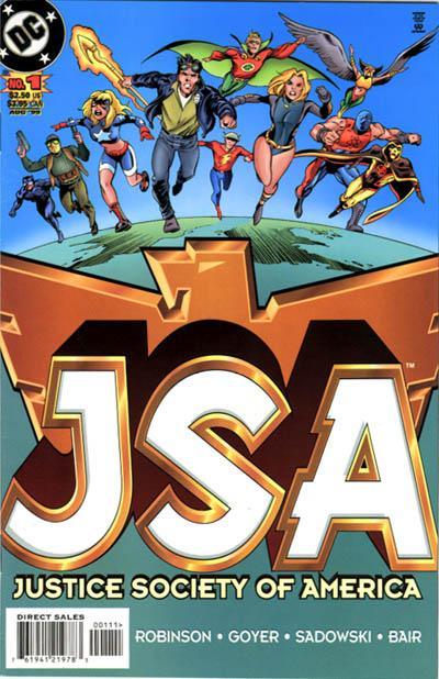 JSA Vol 1 1