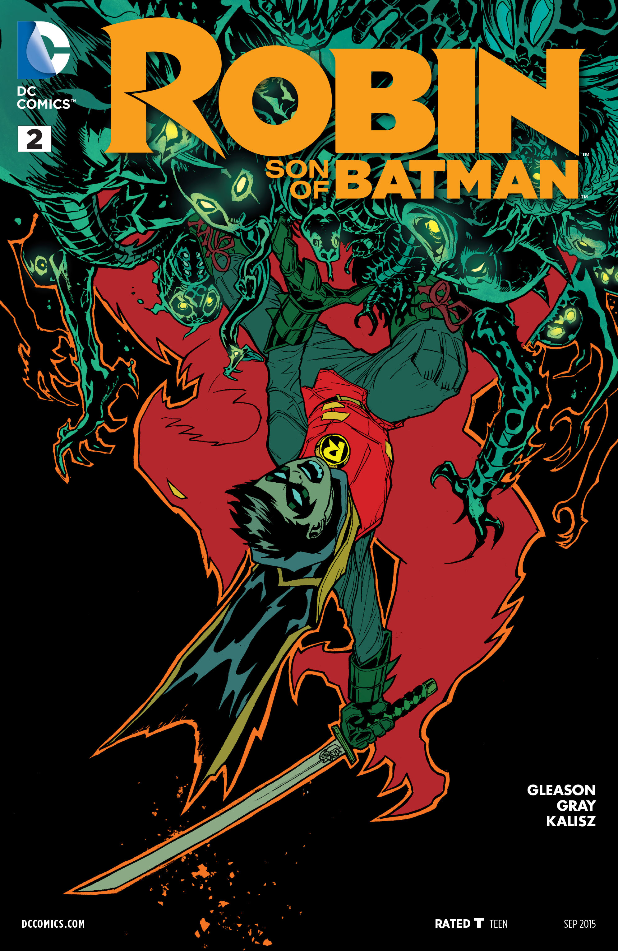 Robin: Son of Batman Vol 1 2