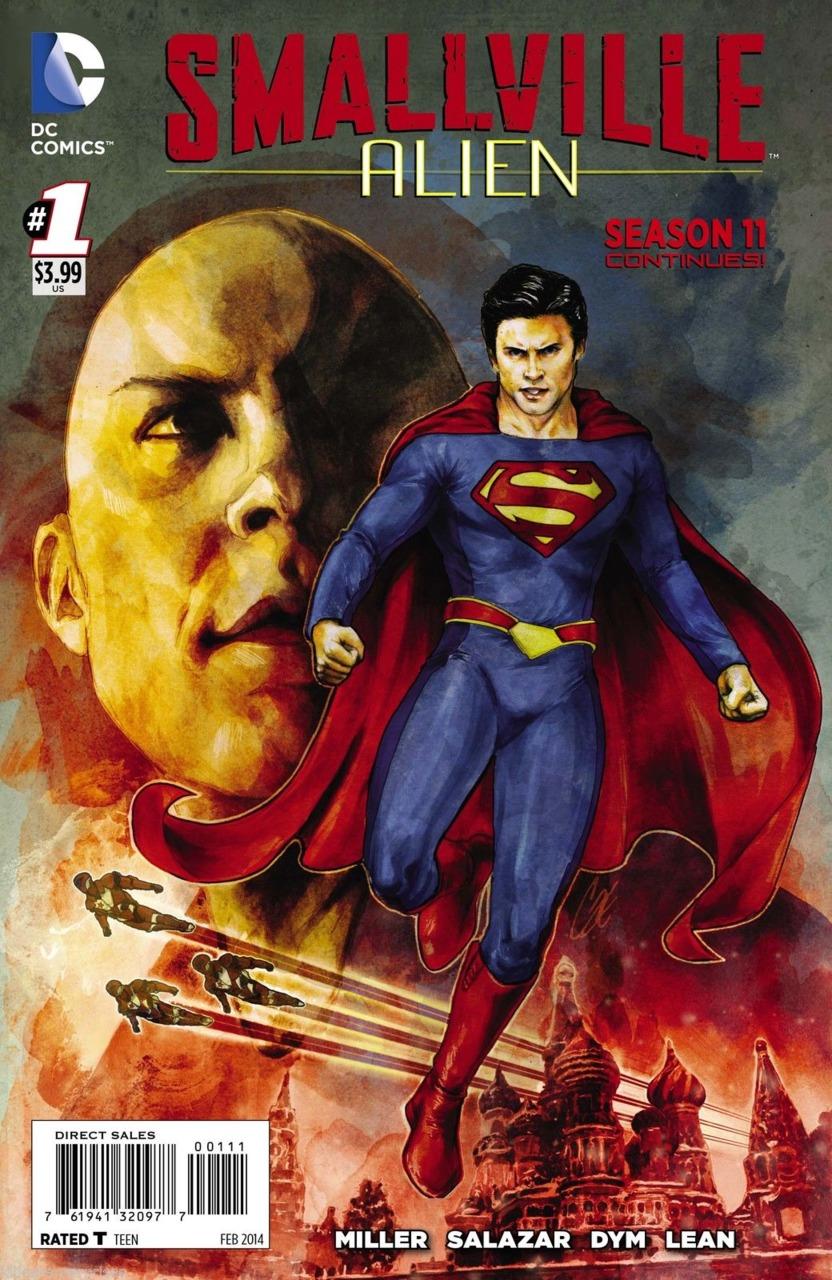 Smallville Season 11: Alien Vol 1