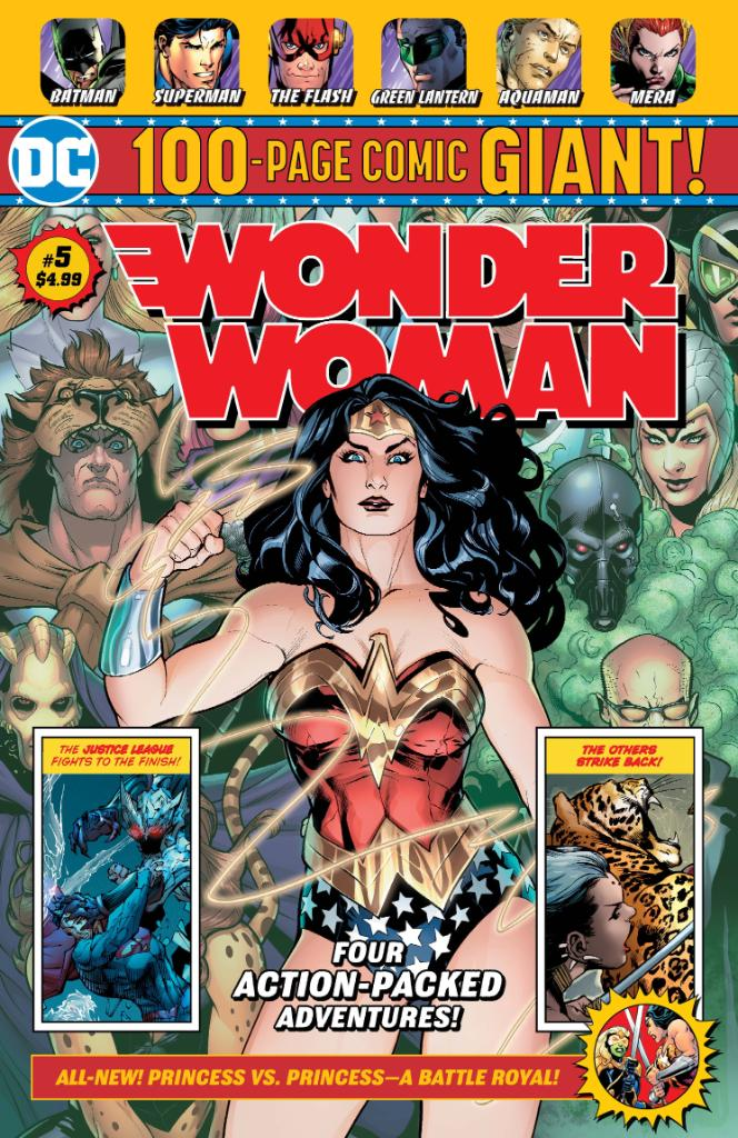 Wonder Woman Giant Vol 1 5