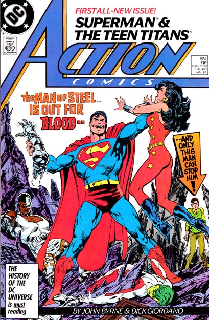 Action Comics Vol 1 584