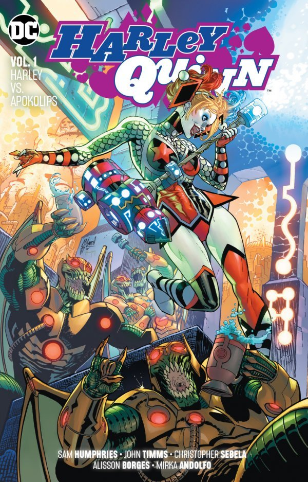 Harley Quinn: Harley vs Apokolips (Collected)