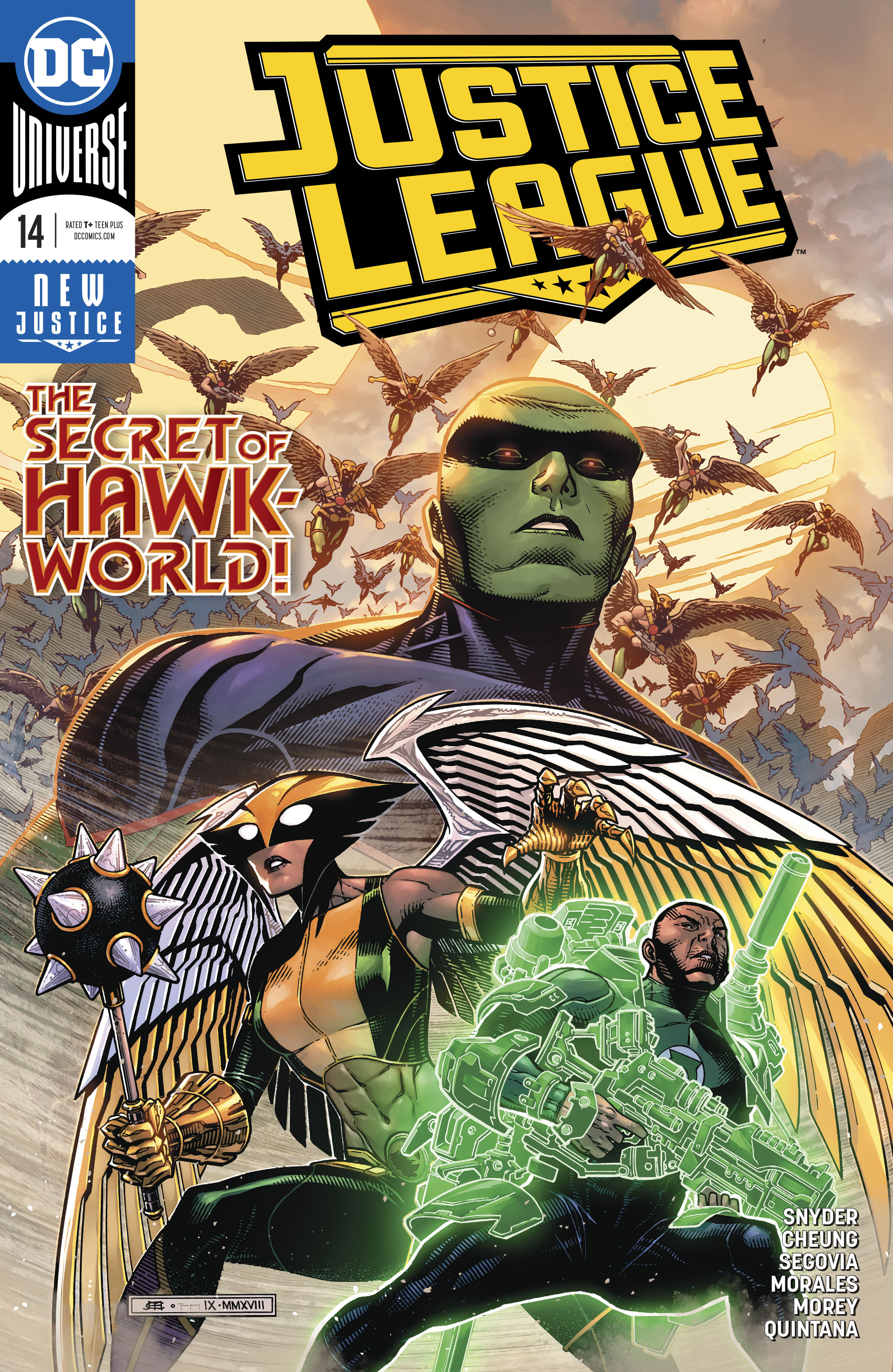 Justice League Vol 4 14
