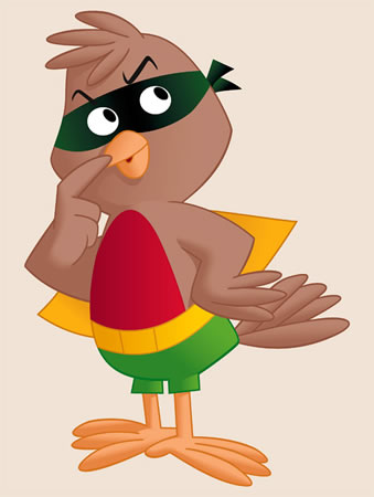 Robbie the Robin (Krypto the Superdog)