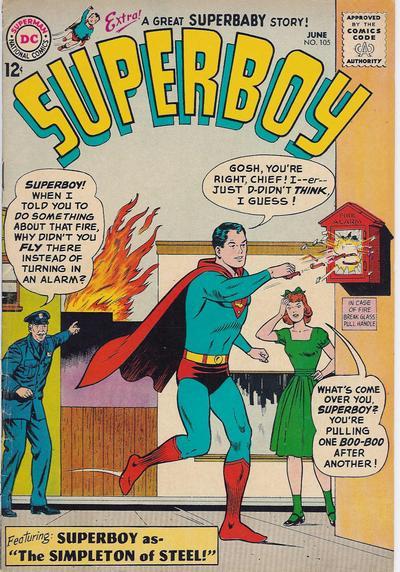 Superboy Vol 1 105
