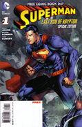 Superman Last Son of Krypton FCBD Special Edition Vol 1 1