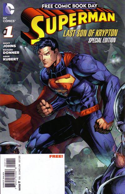 Superman: Last Son of Krypton - FCBD Special Edition Vol 1 1
