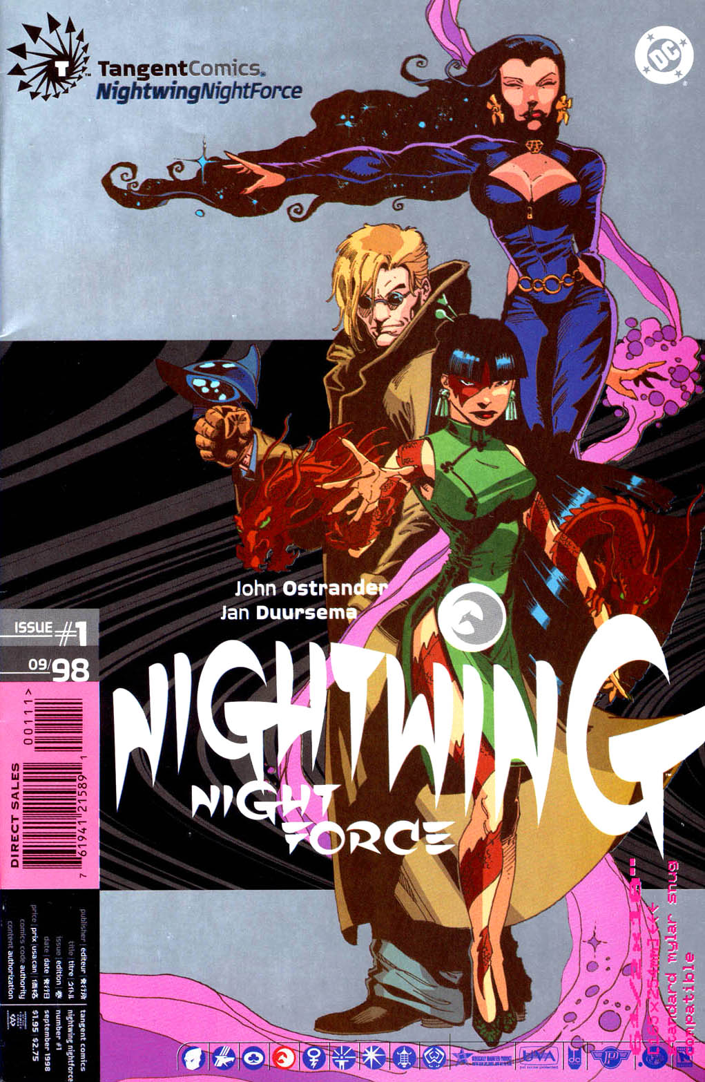 Tangent Comics: Nightwing: Night Force Vol 1 1