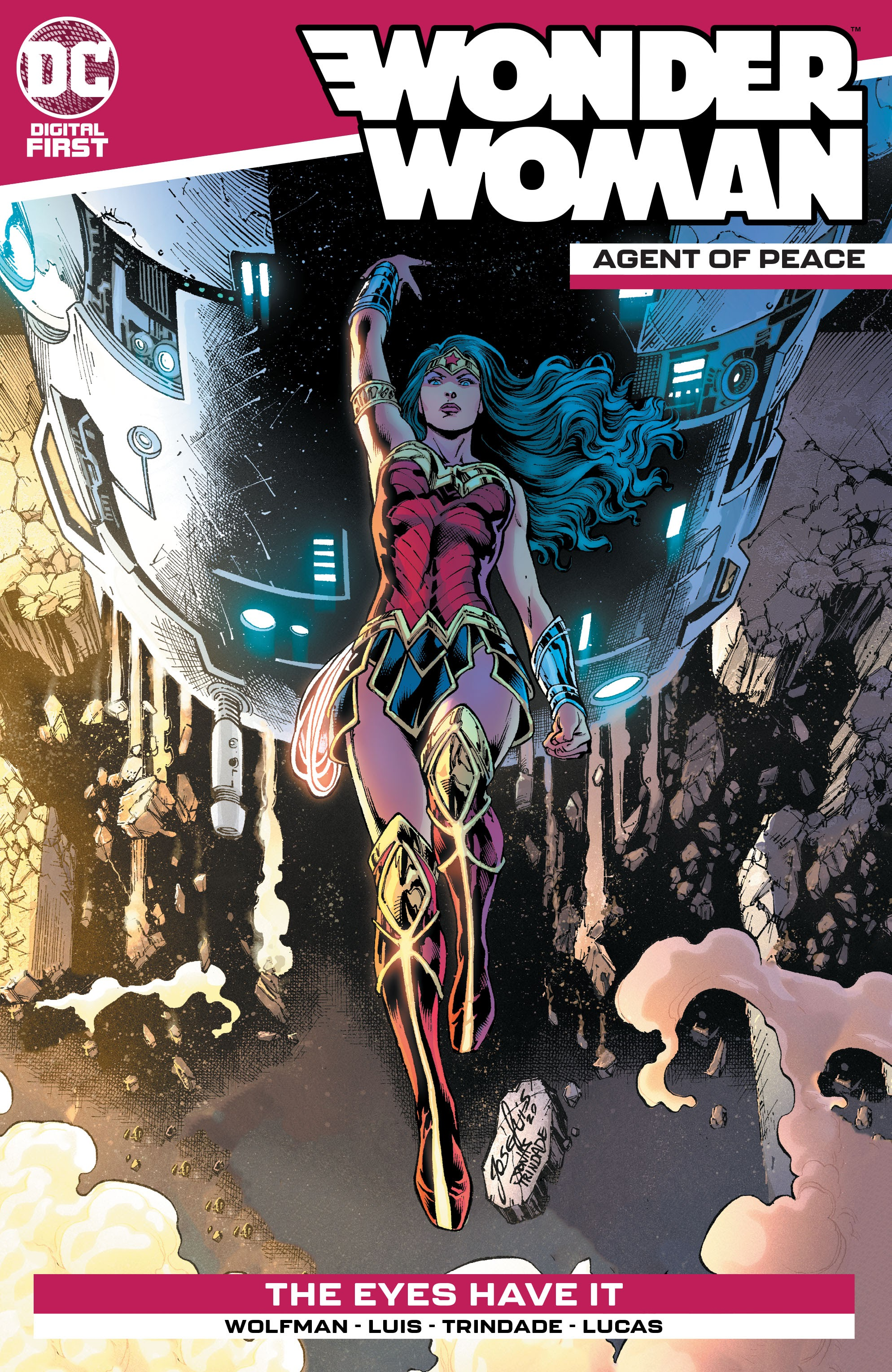 Wonder Woman: Agent of Peace Vol 1 10 (Digital)