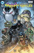 Batman Teenage Mutant Ninja Turtles II Vol 1 1