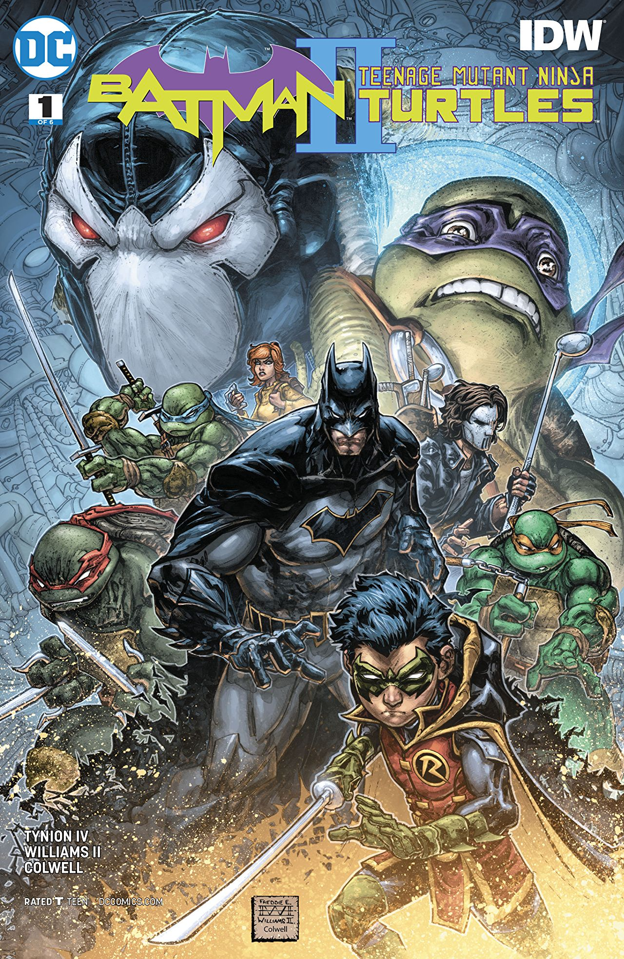 Batman/Teenage Mutant Ninja Turtles II Vol 1 1