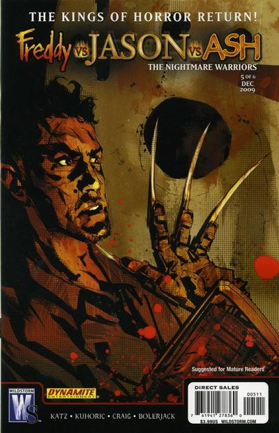 Freddy vs. Jason vs. Ash: The Nightmare Warriors Vol 1 5