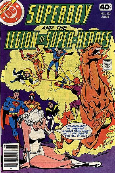 Superboy and the Legion of Super-Heroes Vol 1 252