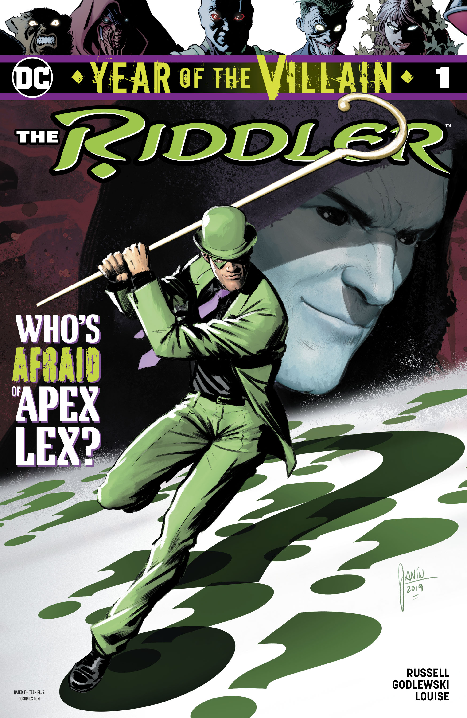 The Riddler: Year of the Villain Vol 1 1