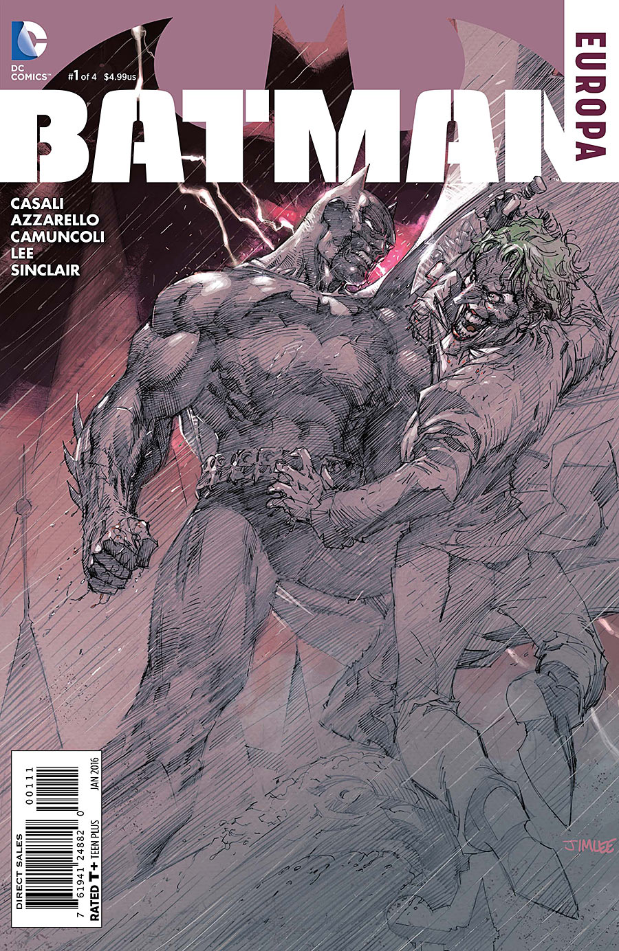 Batman: Europa Vol 1 1