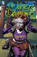 Batman The Dark Knight Vol 2 23.4 The Joker's Daughter
