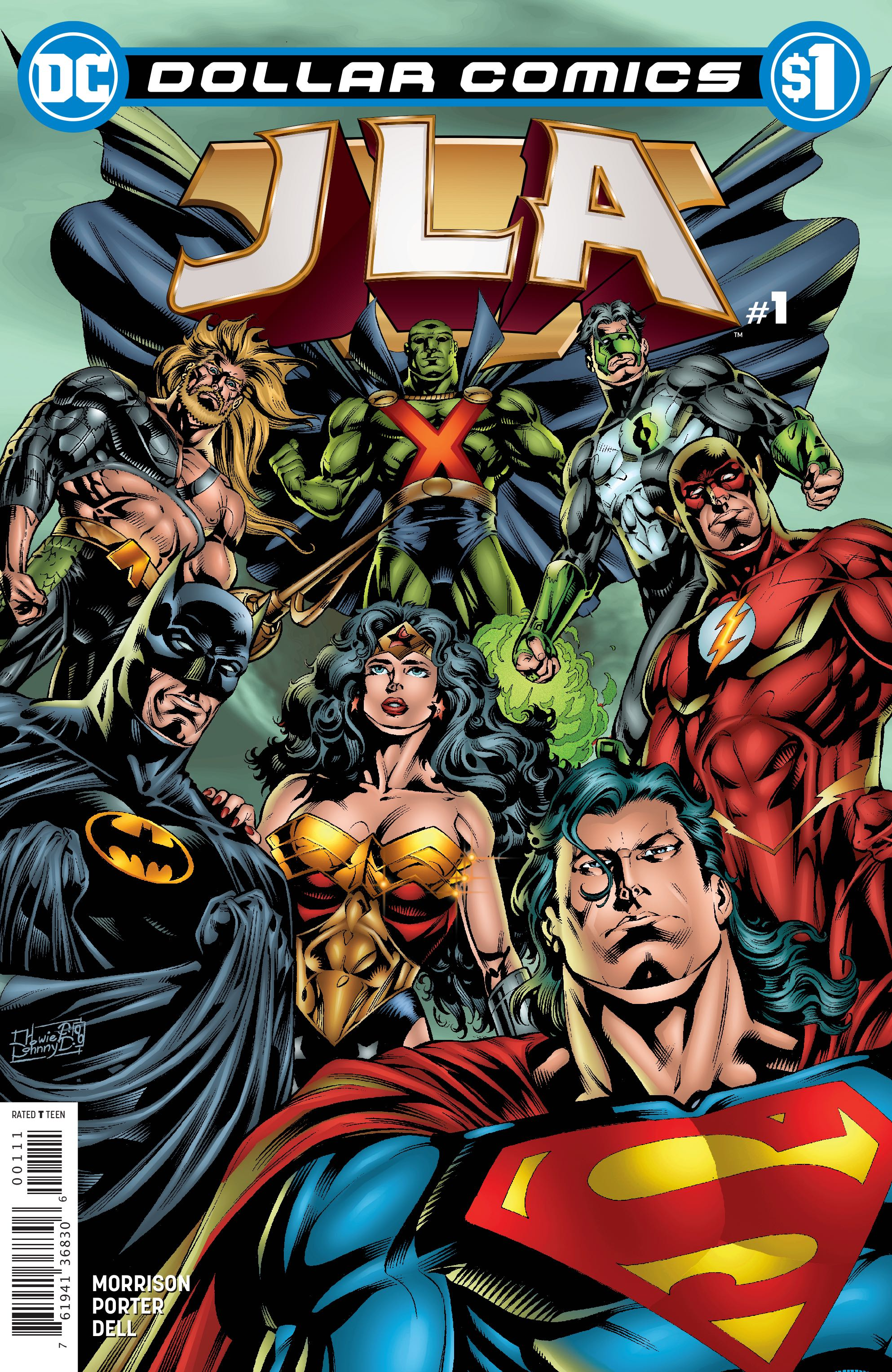 Dollar Comics: JLA Vol 1 1