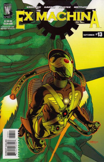 Ex Machina Vol 1 13