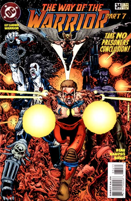 Guy Gardner: Warrior Vol 1 34