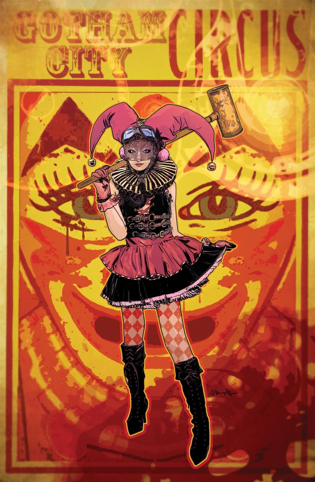 Harley Quinn Vol 2 3 Textless Steampunk Variant.jpg