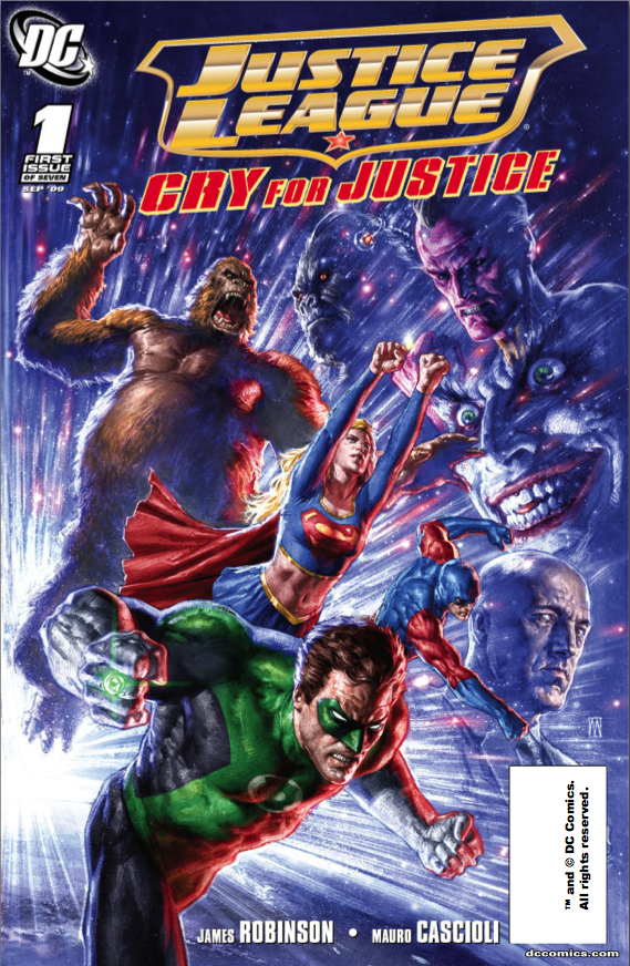 Justice League: Cry for Justice Vol 1