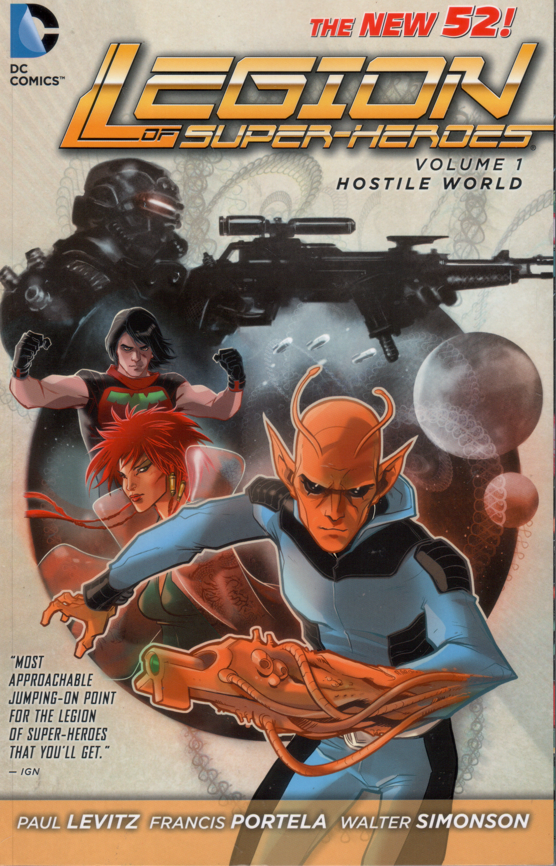 Legion of Super-Heroes: Hostile World (Collected)