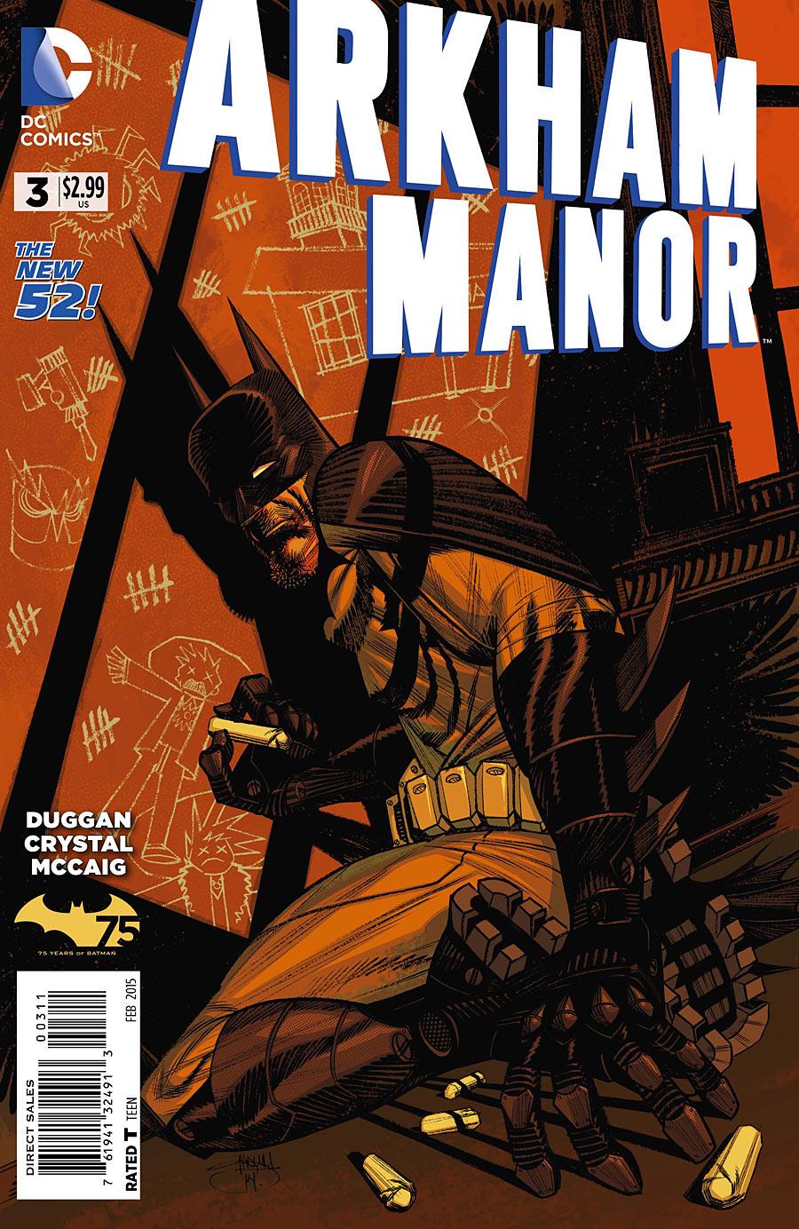 Arkham Manor Vol 1 3