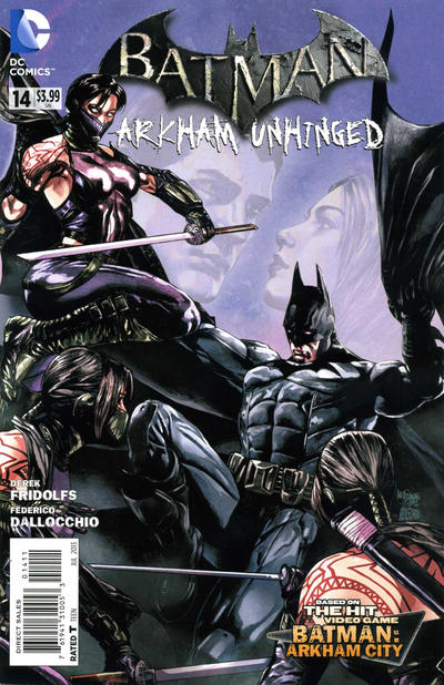 Batman: Arkham Unhinged Vol 1 14