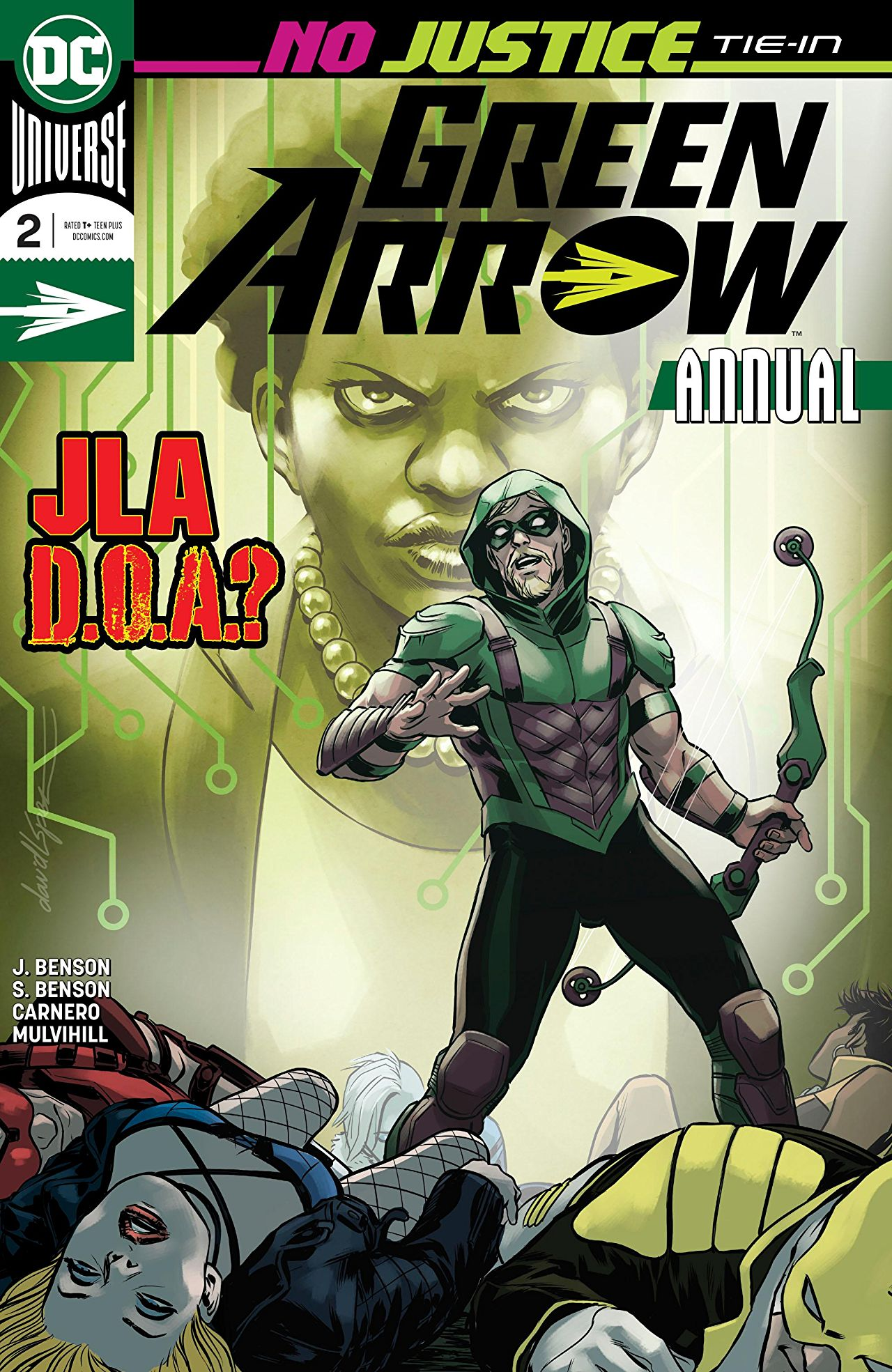 Green Arrow Annual Vol 6 2