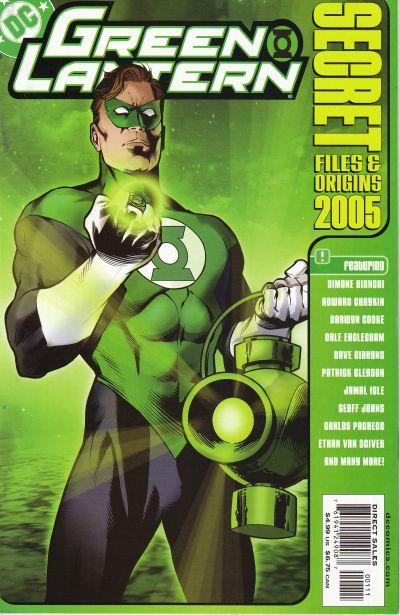 Green Lantern Secret Files and Origins 2005