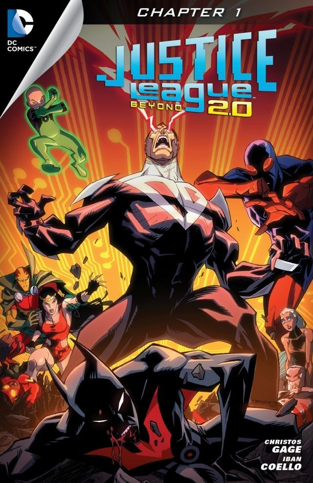 Justice League Beyond 2.0 Vol 1 (Digital)