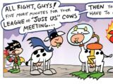 League of Just Us Cows